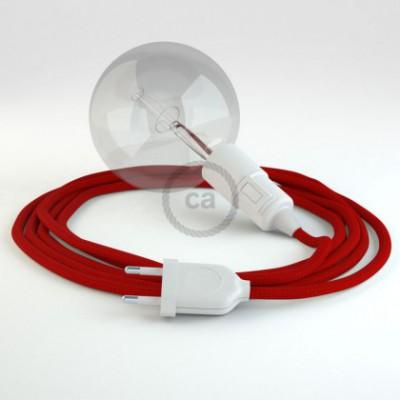 Crie a sua Snake Seda Artificial Vermelho RM09 e traga a sua luz para onde quiser.
