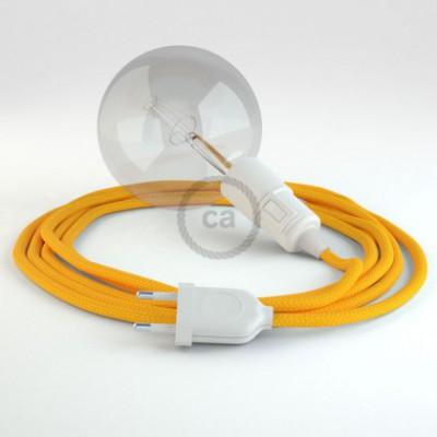 Crie a sua Snake Seda Artificial Amarelo RM10 e traga a sua luz para onde quiser.