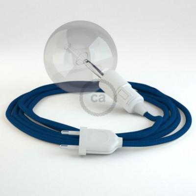 Crie a sua Snake Seda Artificial Azul RM12 e traga a sua luz para onde quiser.