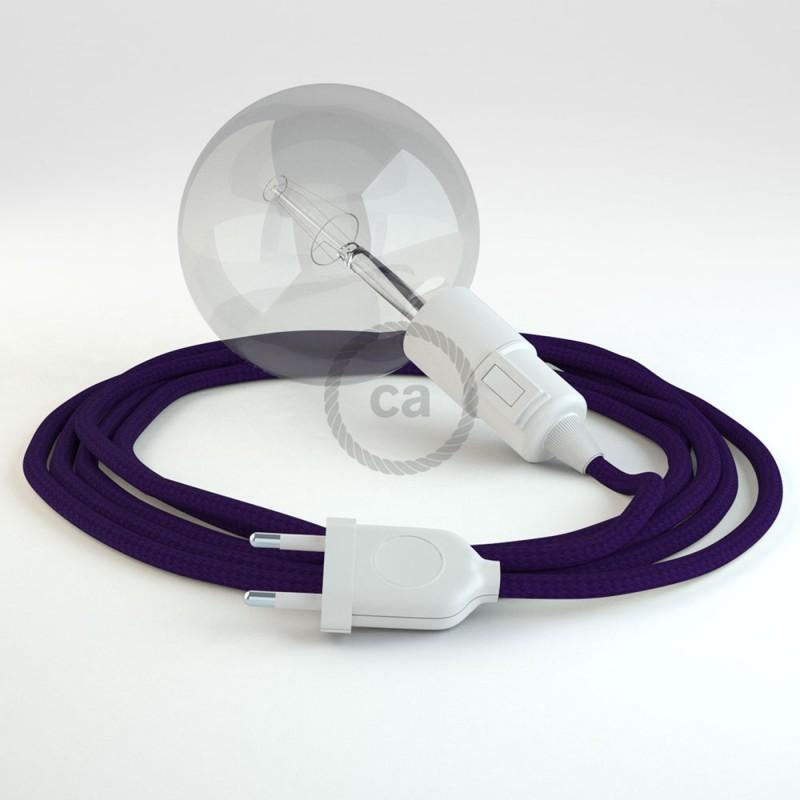 Crie a sua Snake Seda Artificial Violeta RM14 e traga a sua luz para onde quiser.