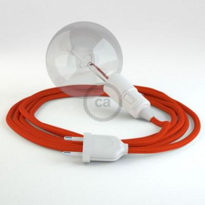 Crie a sua Snake Seda Artificial Laranja RM15 e traga a sua luz para onde quiser.
