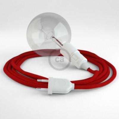 Crie a sua Snake Algodão Vermelho Fogo RC35 e traga a sua luz para onde quiser.