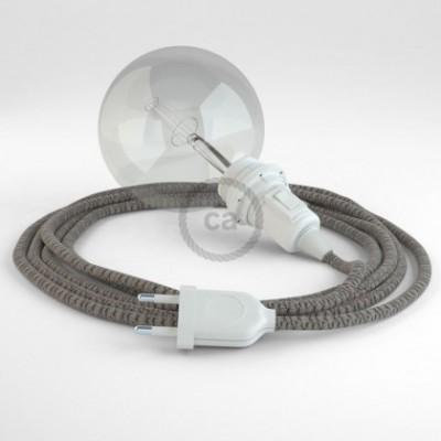 Crie a sua Snake Lozango Antracite RD64 para abajur e traga a sua luz para onde quiser.