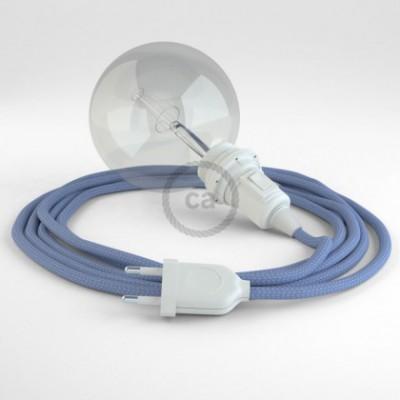Crie a sua Snake Seda Artificial Lilás RM07 para abajur e traga a sua luz para onde quiser.