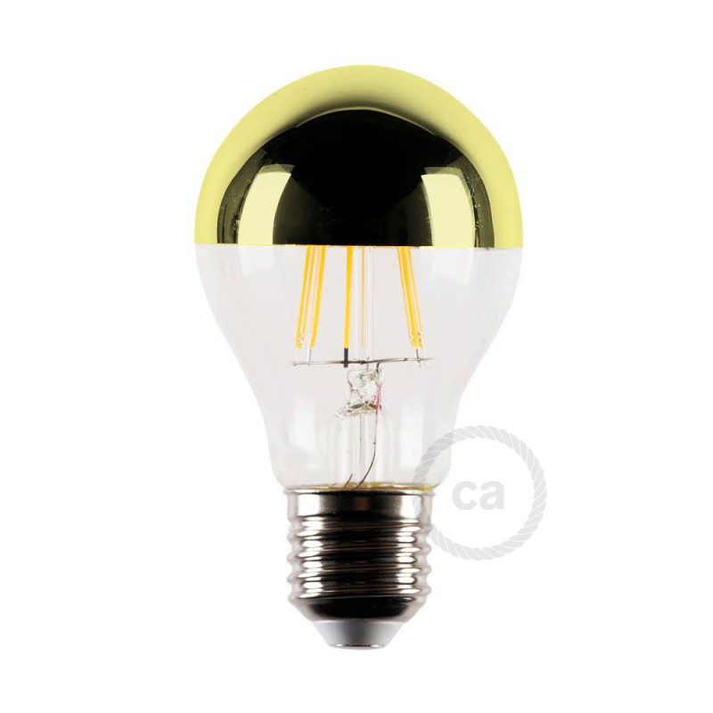 Lâmpada LED E27 Filamento Reflect Gold 4W 2700K