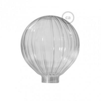 Vidro decorativo para lâmpada modular G125 Globo Transparente