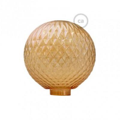 Vidro decorativo para lâmpada modular G125 Joia Fumada