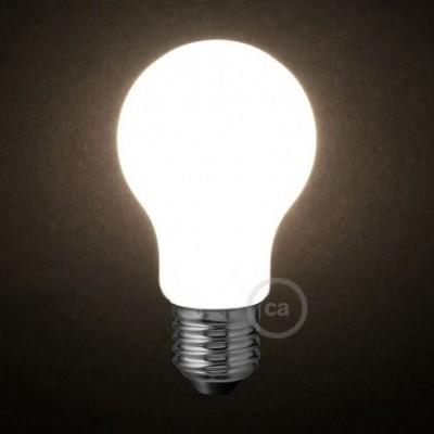 Lâmpada Opalina LED - Gota A60 - 6W E27 Dimável 2700K