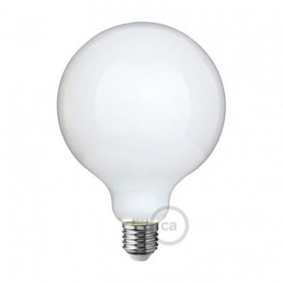 Lâmpada Opalina LED - Globo G125 - 8W E27 Dimável 2700K