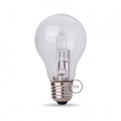 Lâmpada de halogéneo em formato de gota, casquilho E27 105W Dimável