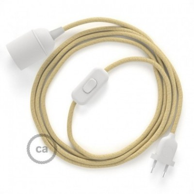 SnakeBis fixação com casquilho e cabo em tecido - Juta RN06