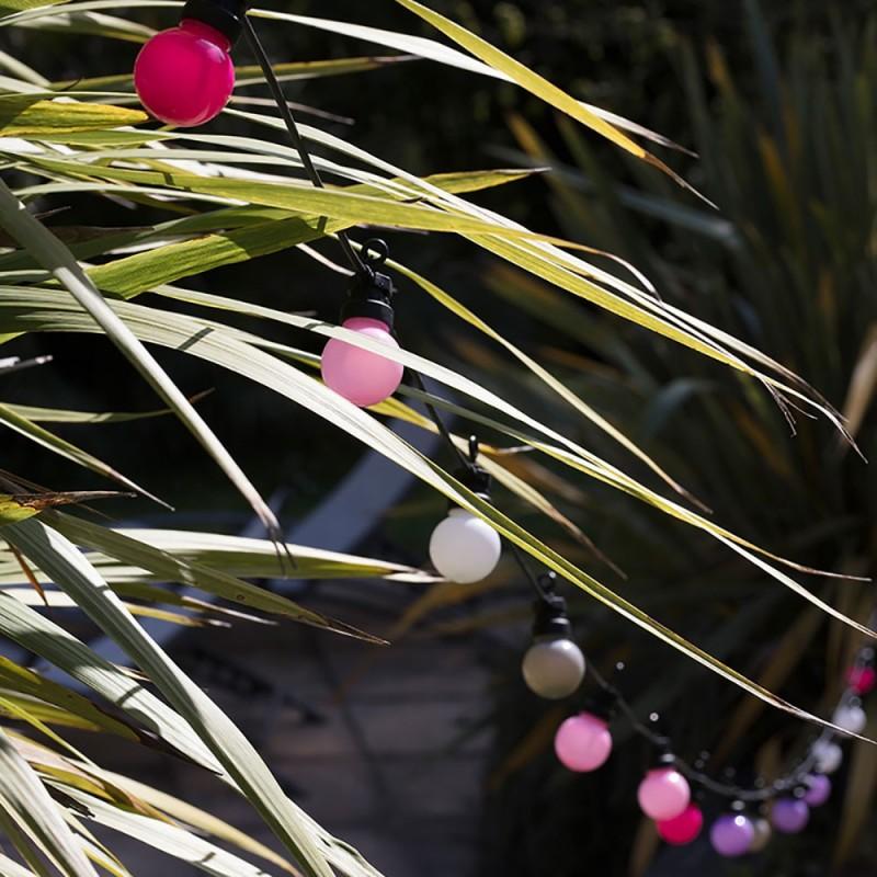 Caixa com cordão de luzes La Guinguette Venice Beach