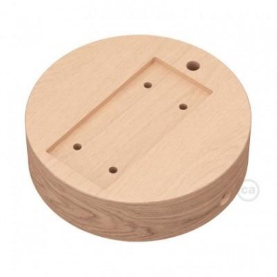 Base redonda para Archet(To) em madeira natural