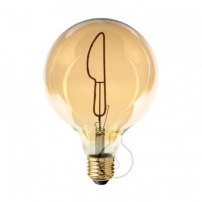 Lâmpada LED Filamento Globo G125 coleção Masterchef FACA E27 4W 2000K Regulável