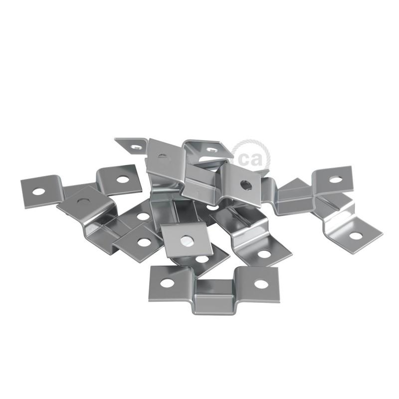 Braçadeira de parede para cordão de luzes - 10 peças