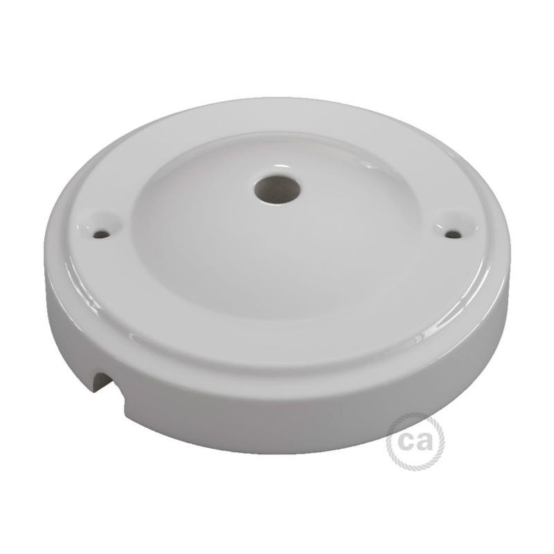 "Kit de rosácea de teto ""Minimal"" em porcelana"