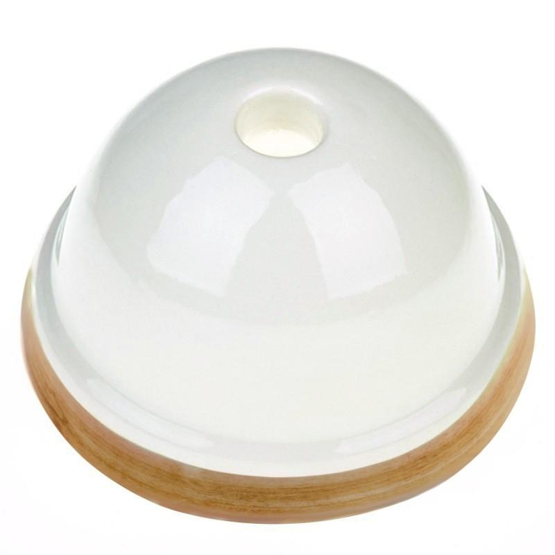 Kit de rosácea de teto mini em cerâmica