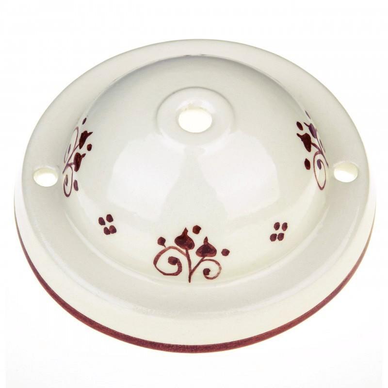 Kit de rosácea de teto Deco-81 Berries em cerâmica