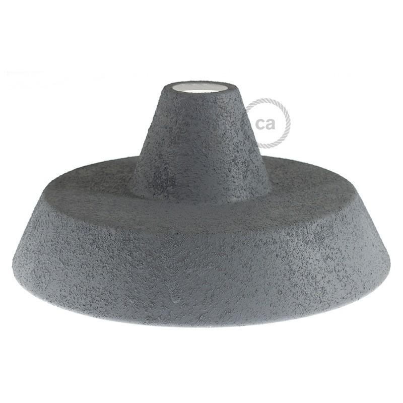 Abajur Industrial em cerâmica para suspensão - Fabricado em Itália