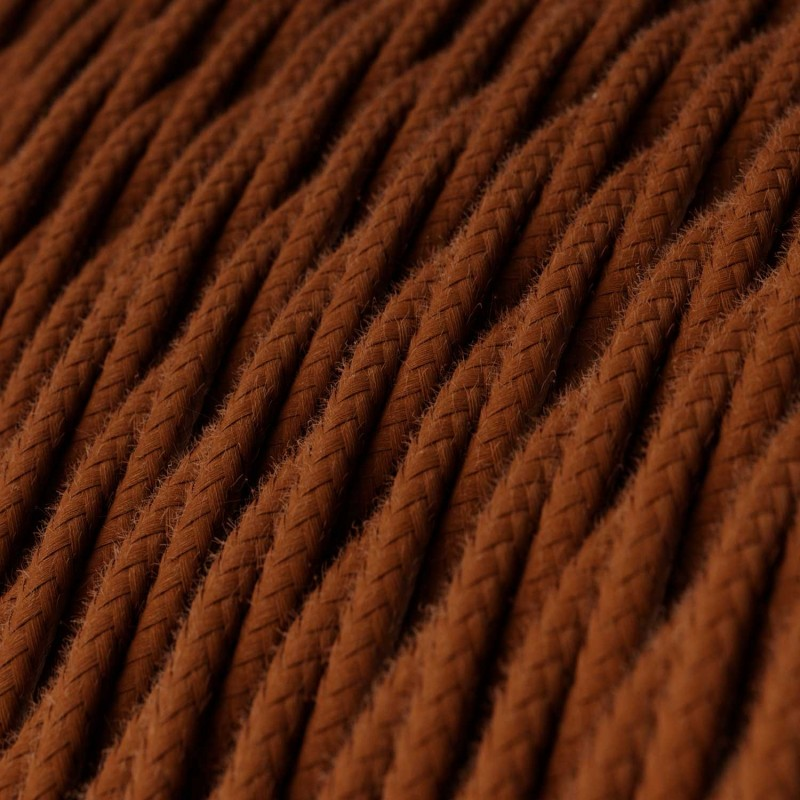 Candeeiro suspenso com cabo têxtil, abajur de grade Drop e detalhes em metal - Fabricado em Itália