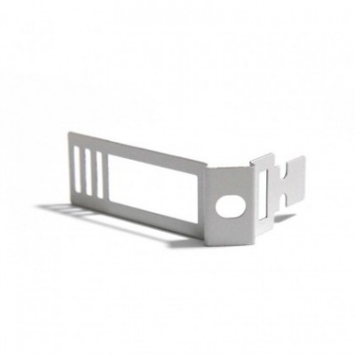 Clip de cabo ajustável em metal branco para Creative-Tube