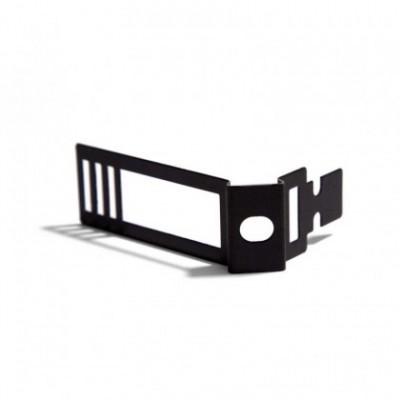 Clip de cabo ajustável em metal preto para Creative-Tube