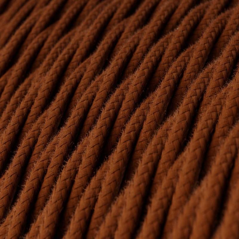Cabo elétrico torcido com algodão aplicado, Veado Sólido TC23