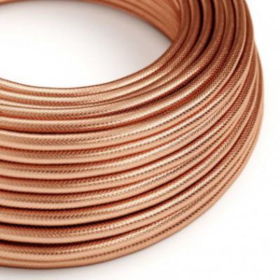 Cabo elétrico redondo coberto em 100% de cobre vermelho
