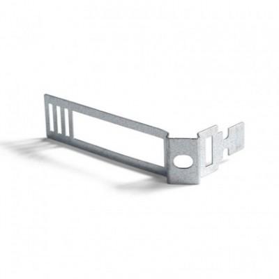 Mola de gravata em metal para cordão elétrico com 24 mm de diâmetro