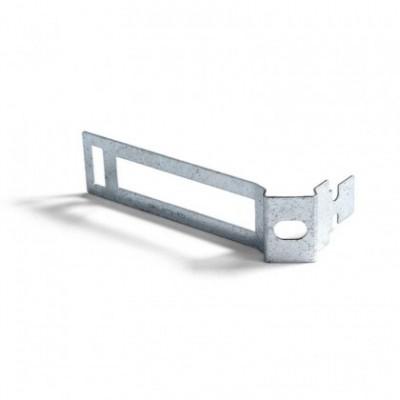 Mola de gravata em metal para cordão elétrico com 30 mm de diâmetro