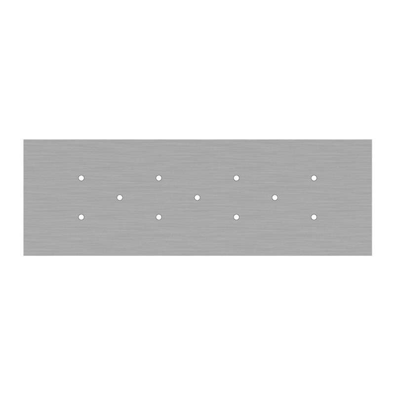 Rectangular XXL Rose-One 11-hole ceiling rose kit, 675 x 225 mm Cover