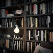 Archet(To), suporte de parede transparente para lâmpadas suspensas