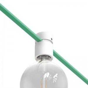 Kit de suporte de lâmpada de madeira para cordão de luzes e sistema Filé. Fabricado em Itália