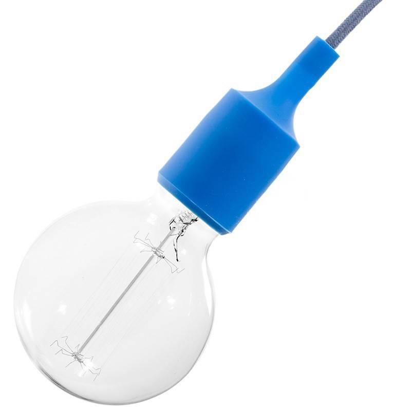 Kit de casquilho E27 em silicone