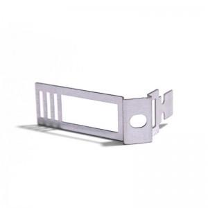 Clip de cabo ajustável em metal banhado a zinco para Creative-Tube