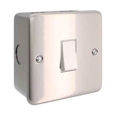 Caixa revestida a metal com interruptor único para Creative-Tube