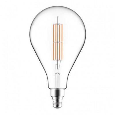 Lâmpada LED Transparente XXL A165 Duplo Filamento Longo 11W E27 Dimável 2700K
