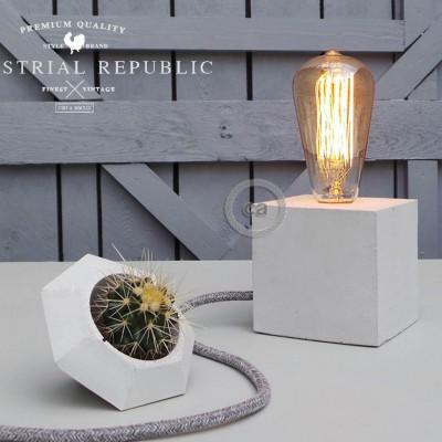 """Mark Lovenjak por Industrial Republic: Candeeiro de concreto """"The Cube"""""""