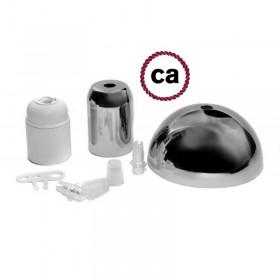 Kit de metal ou de porcelana: Escolha o modelo que você gosta