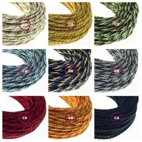 Novos cabos trançados de design clássico e a nova abajur 1000fori