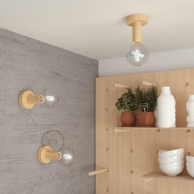 Novos componentes de madeira dos Creative-Cables