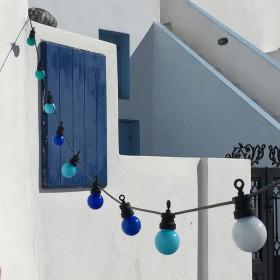 """""""La Guinguette"""": Cordão de Luzes para o exterior prontos a usar"""